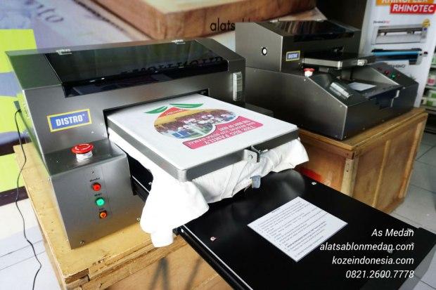 Mesin printing kaos sablon dtg full color