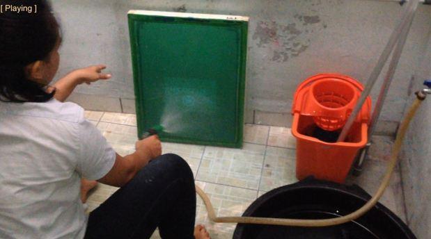 cara cuci afdrukan sablon