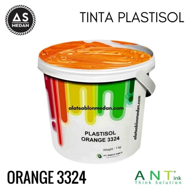 Tinta Sablon Kaos Ant ink Plastisol Orange