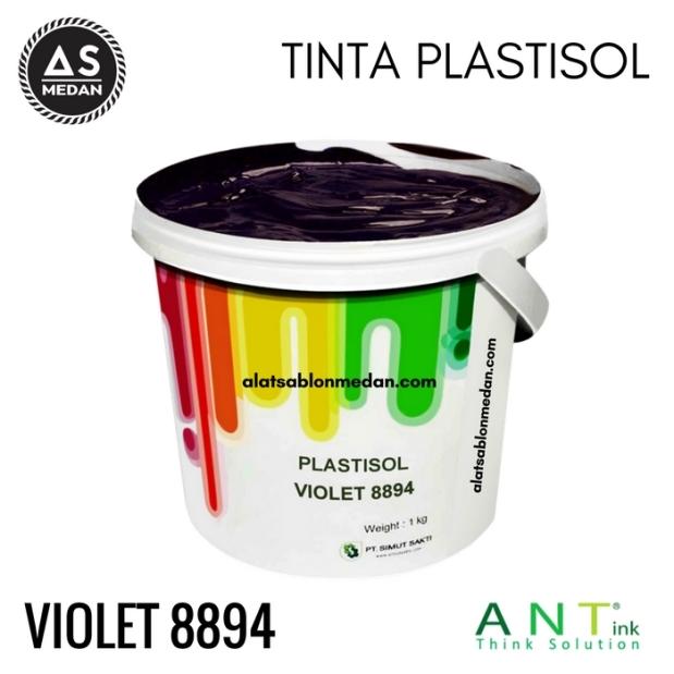 Tinta Sablon Kaos Ant ink Plastisol Violet