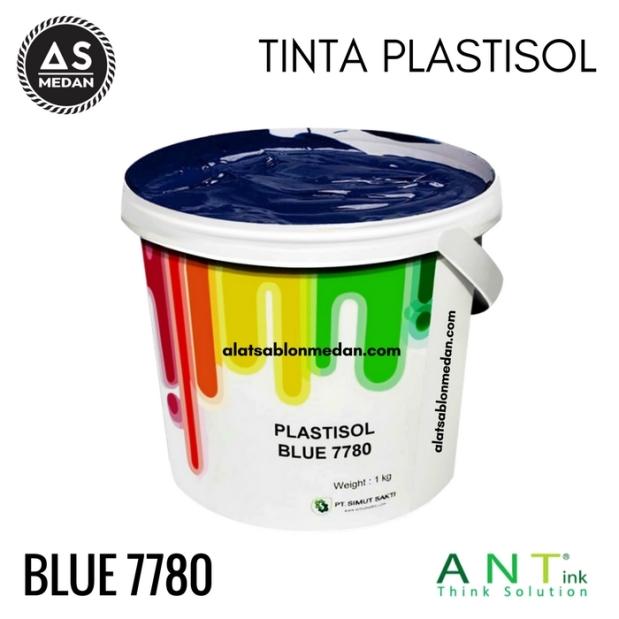 Tinta Sablon Kaos Ant ink Plastisol Blue