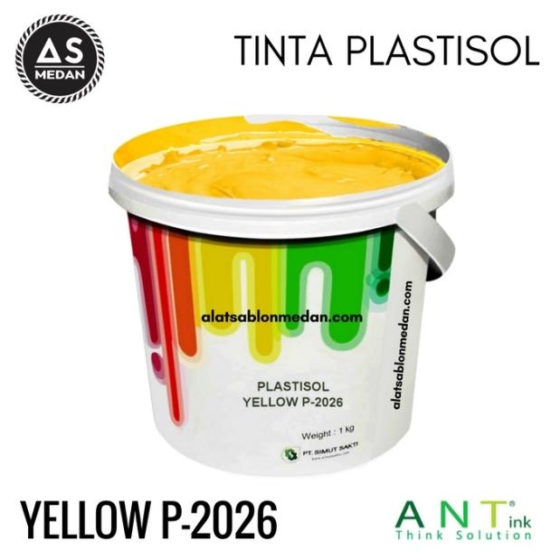 Tinta Sablon Kaos Ant ink Plastisol Yellow
