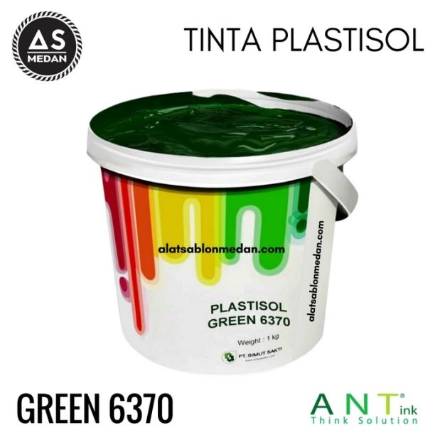 Tinta Sablon Kaos Ant ink Plastisol Green