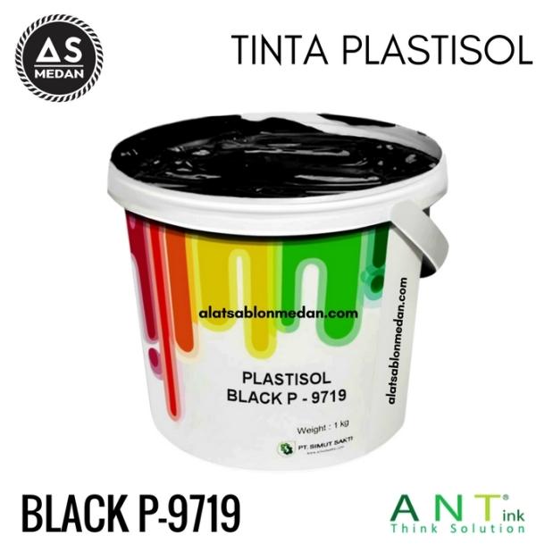 Tinta Sablon Kaos Ant ink Plastisol Black