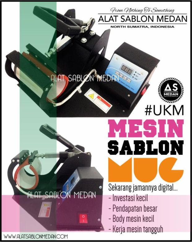 MESIN PRESS MUG, SABLON MUG