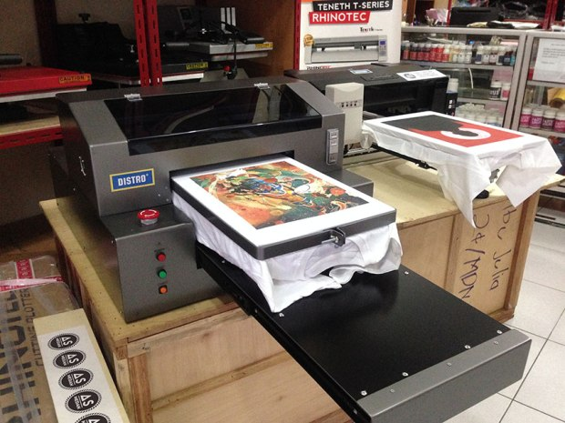 Mesin Printer DTG DISTRO SPIDER series