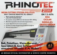 Mesin cutting sticker Rhinotec