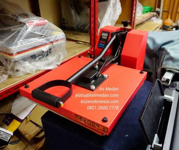 Mesin press kaos 900 watt