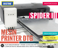 "Mesin DTG Full Color ""DISTRO"" SPIDER III"