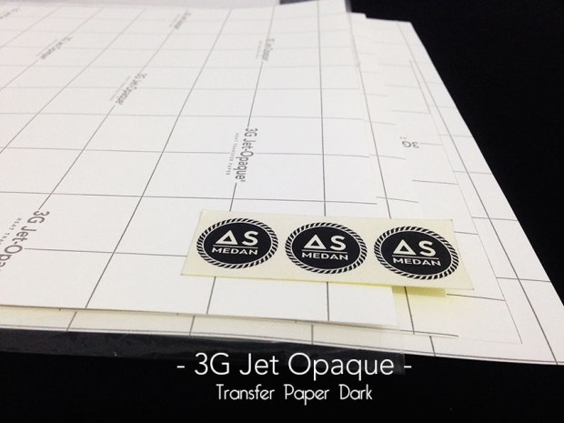 TRANSFER PAPER 3G JET OPAQUE