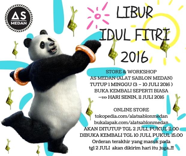 LIBUR IDUL FITRI 2016