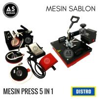 Mesin press 5 in 1