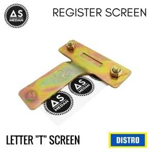 "LETTER ""T"" SCREEN SABLON"