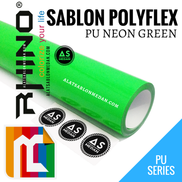 Rhinoflex PU Neon Green