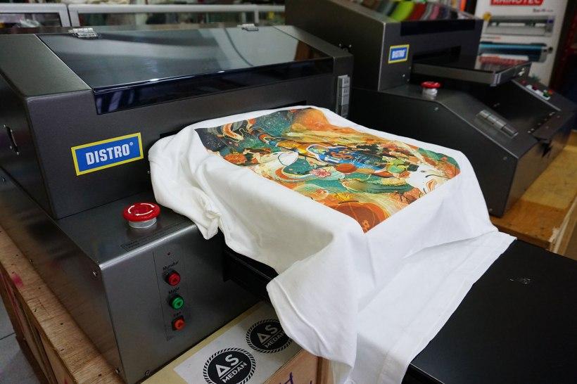 Mesin printer sablon DTG full color A3
