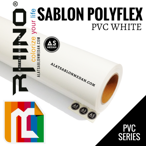 Rhinoflex PVC White