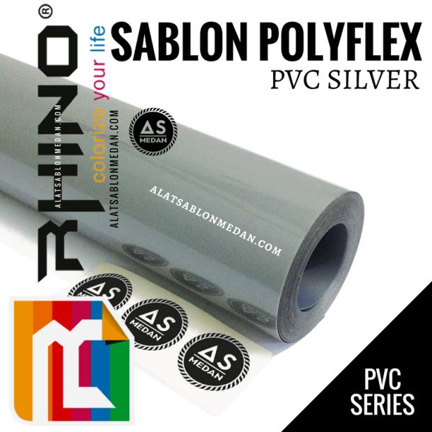 Rhinoflex PVC Silver