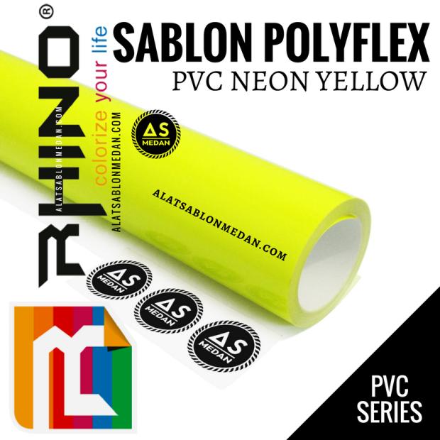 Rhinoflex PVC Neon Yellow
