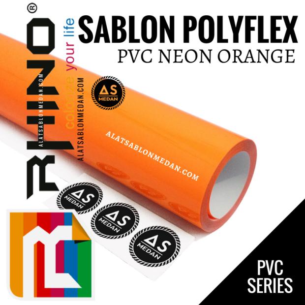 Rhinoflex PVC Neon Orange