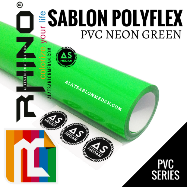 Rhinoflex PVC Neon Green