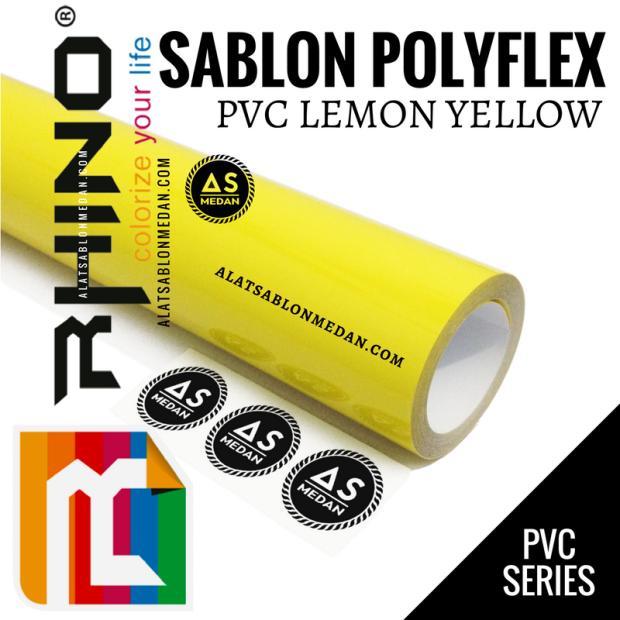 Rhinoflex PVC Lemon Yellow