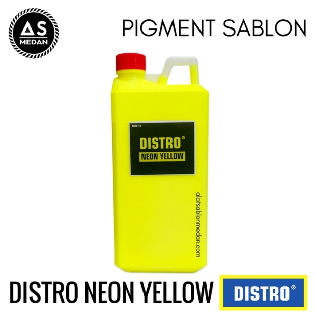 Biang Warna Sablon Distro Neon Yellow